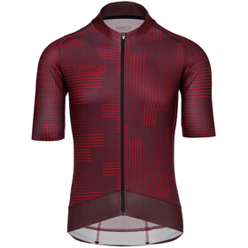 Bioracer Epic SS Jersey Men, warp bordeaux